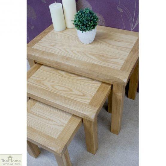 Farmhouse Oak Nest 3 Tables_5