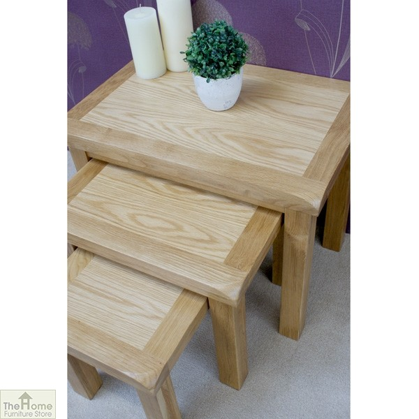 Farmhouse Oak Nest 3 Tables_5