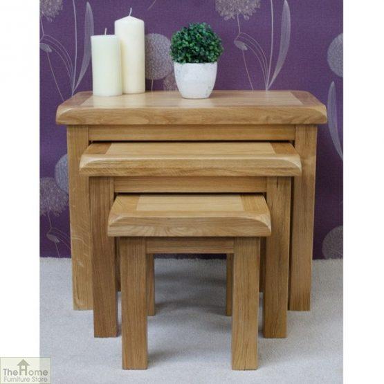 Farmhouse Oak Nest 3 Tables_4