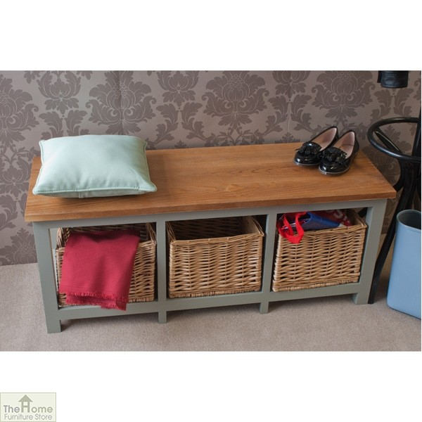 Henley 3 Drawer Storage Bench The Home Furniture Store
