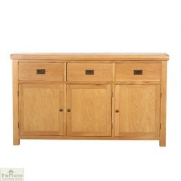 Farmhouse 3 Drawer 3 Door Sideboard