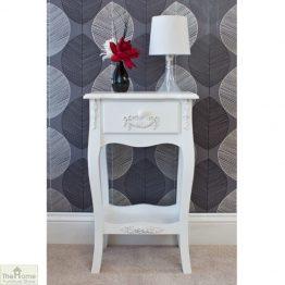 Limoges 1 Drawer Lamp Table_1