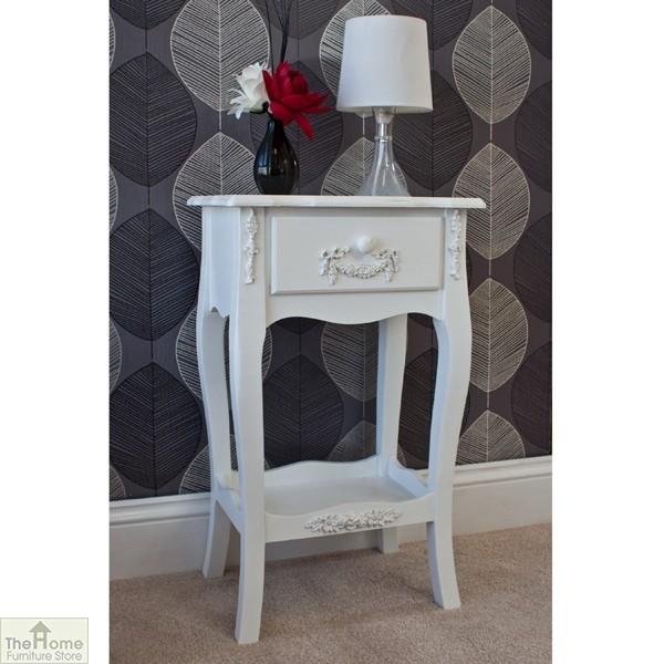 Limoges 1 Drawer Lamp Table_2