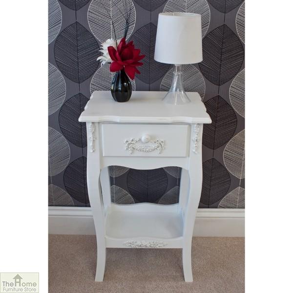 Limoges 1 Drawer Lamp Table_3