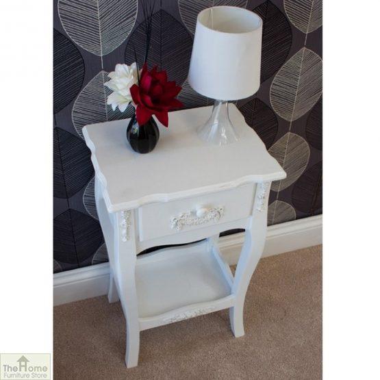 Limoges 1 Drawer Lamp Table_4