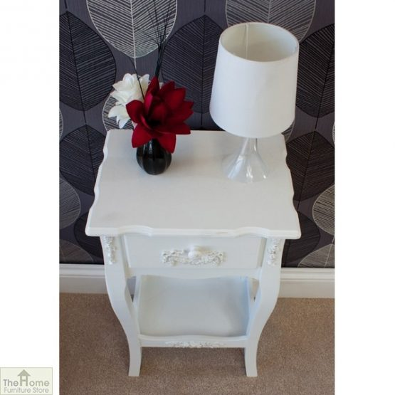Limoges 1 Drawer Lamp Table_5