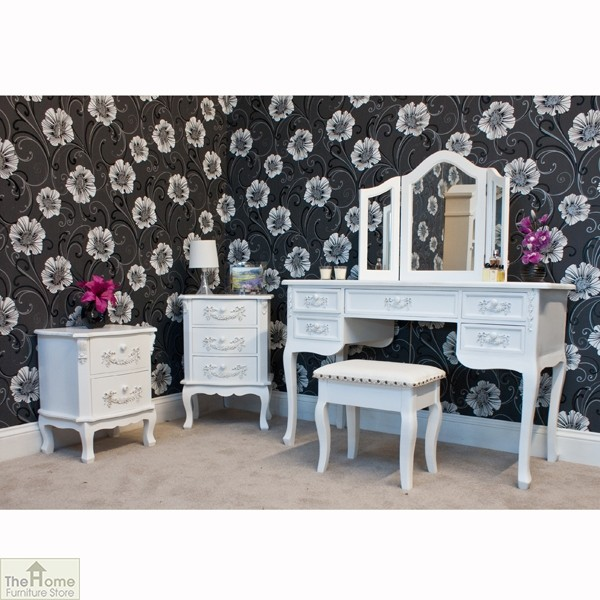 Limoges 5 drawer dressing table the home furniture store for Dressing amenagement limoges