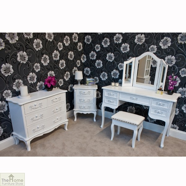 Limoges dressing table stool the home furniture store Home furniture outlet uk