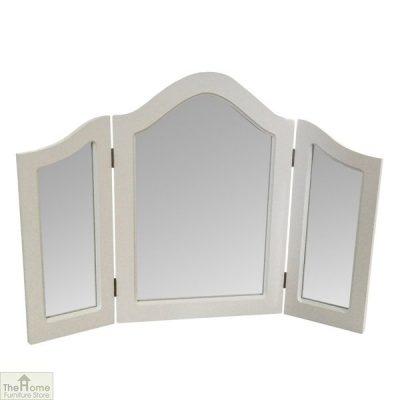 Limoges Triple Dressing Table Mirror