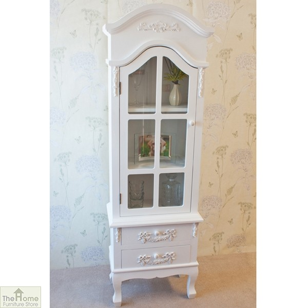 Limoges 2 Drawer Display Cabinet_1