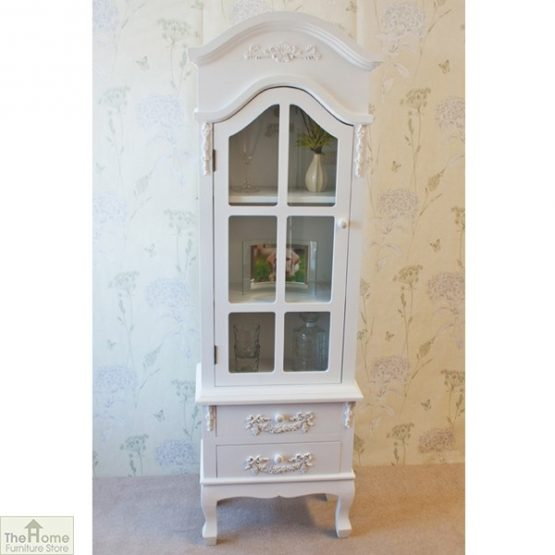Limoges 2 Drawer Display Cabinet_2