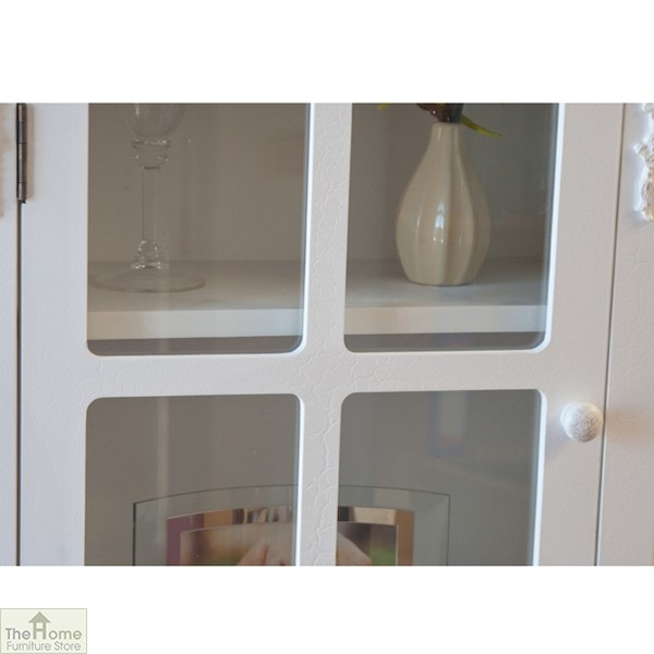 Limoges 2 Drawer Display Cabinet_4