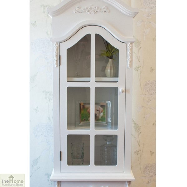 Limoges 2 Drawer Display Cabinet_5