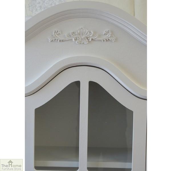 Limoges 2 Drawer Display Cabinet_8