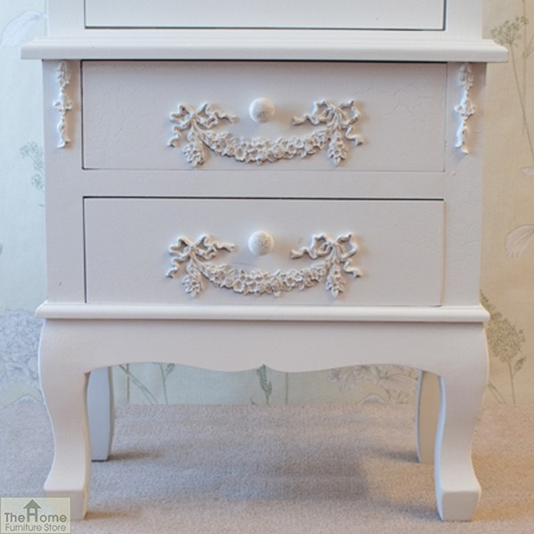 Limoges 2 Drawer Display Cabinet_9