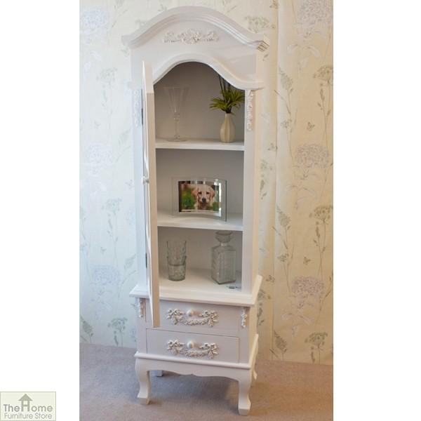 Limoges 2 Drawer Display Cabinet_11