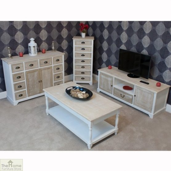 Cotswold 10 Drawer 2 Door Sideboard_5