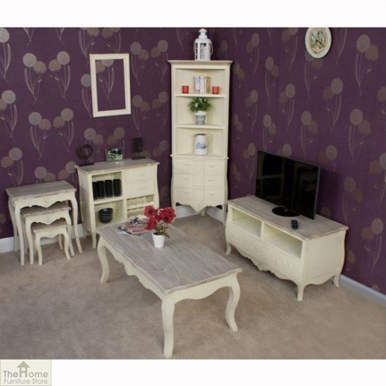 Devon Shabby Chic Nest 3 Tables_4