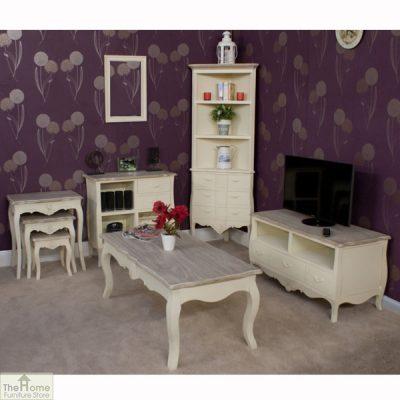 Devon Shabby Chic Nest of Tables_5