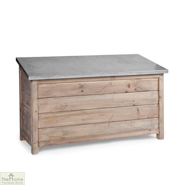 Nice Outdoor Wooden Storage Box Unit