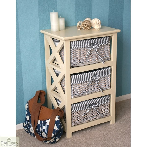 Selsey 3 Drawer Wicker Storage Unit_2