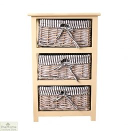 Selsey 3 Tier Drawer Storage Unit