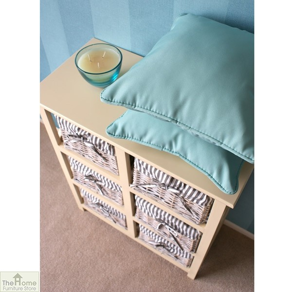 Selsey 6 Drawer Wicker Storage Unit_4