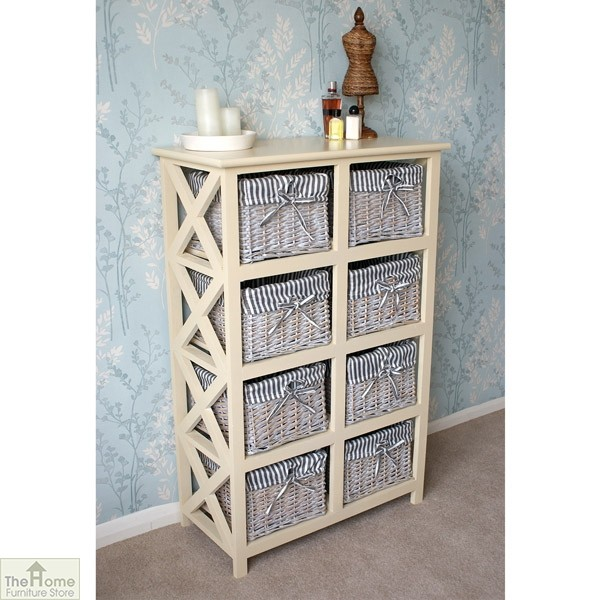 Selsey 8 Drawer Wicker Storage Unit_2
