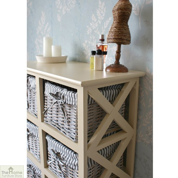 Selsey 8 Drawer Wicker Storage Unit_4