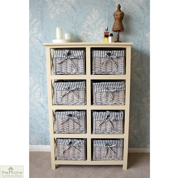 Selsey 8 Drawer Wicker Storage Unit_1