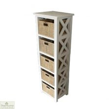 Somerset 5 Drawer Tallboy Unit