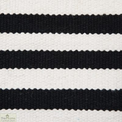 Monochrome Handwoven Reversible Rug_3