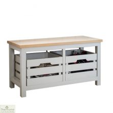 Winchester 2 Drawer Storage Bench