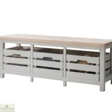 Winchester 3 Drawer Storage Bench