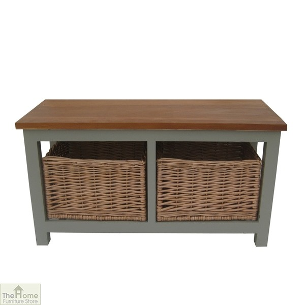Henley 2 Drawer Storage Bench The Home Furniture Store