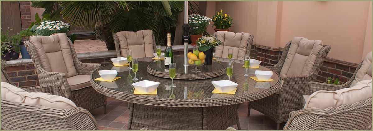 Luxury Rattan Garden Furniture All Weather Outdoor Furniture