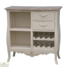 Devon 2 Drawer 2 Shelf Wine Rack
