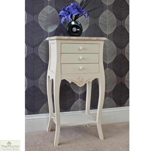 Devon 3 Drawer Bedside Table_2