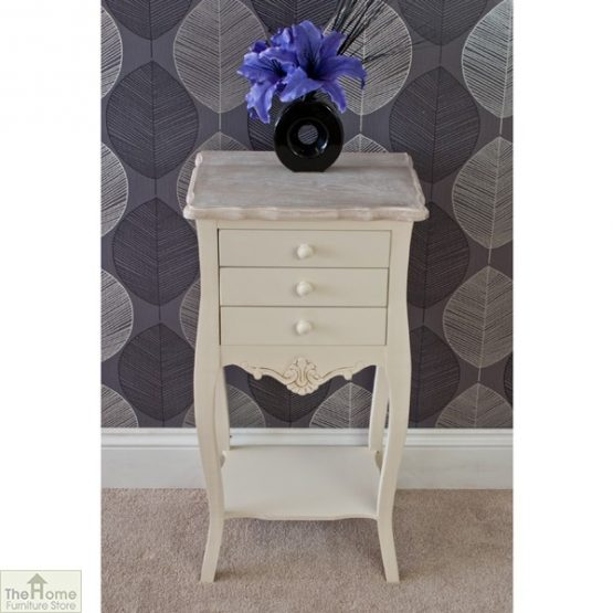 Devon 3 Drawer Bedside Table_3