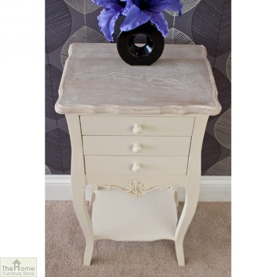 Devon 3 Drawer Bedside Table_4