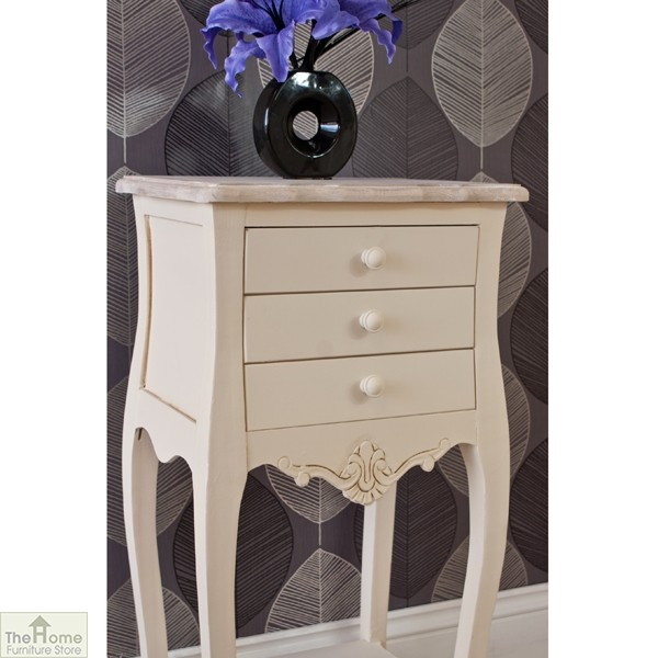 Devon 3 Drawer Bedside Table_5