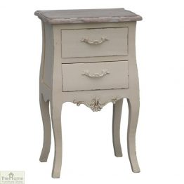 Devon 2 Drawer Bedside Unit