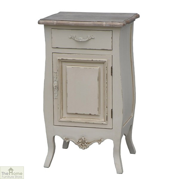 Devon 1 Door 1 Drawer Bedside Unit