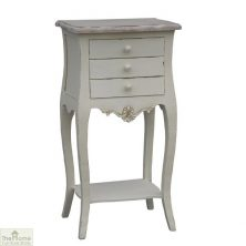 Casamoré Devon 3 Drawer Bedside Table