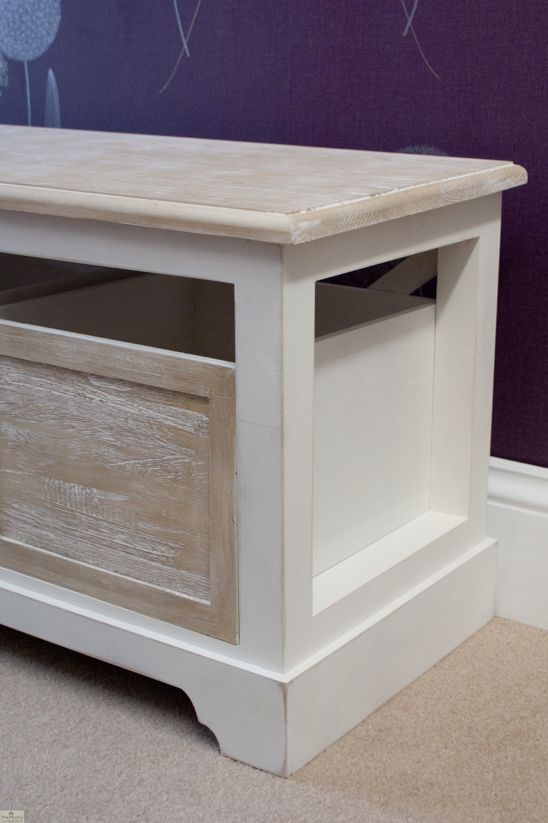 Cotswold 3 Seat Storage Bench The Home Furniture Store