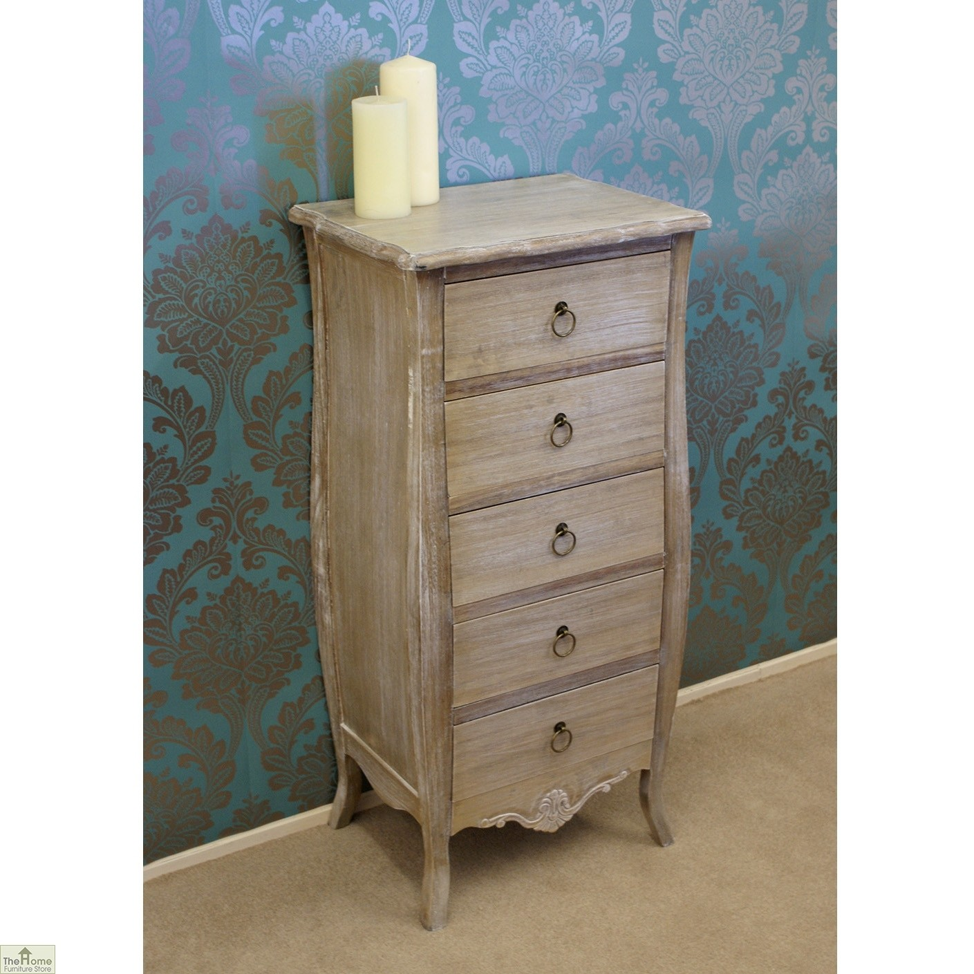 33 Home Furniture Store Uk Casamore Bordeaux 5 Drawer Tallboy Larissa Granite Polished