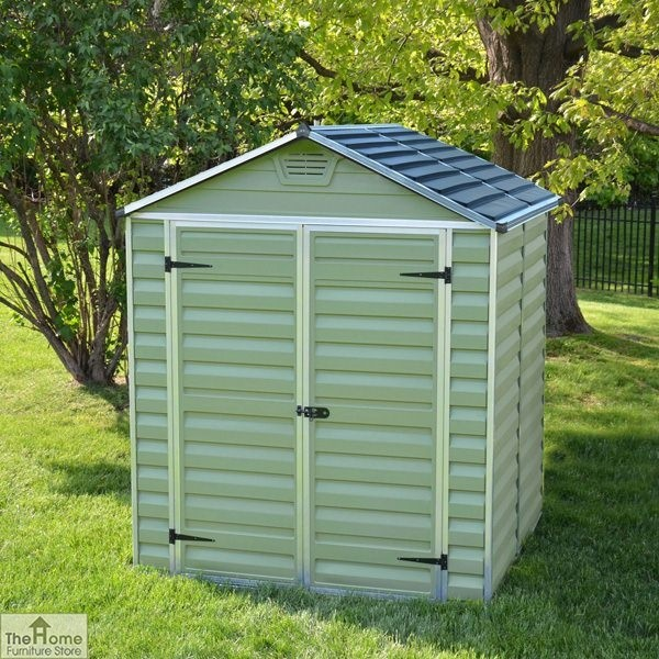 Green 8 x 6 Plastic Shed_1