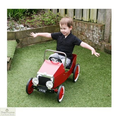 Classic Childrens Red Pedal Car