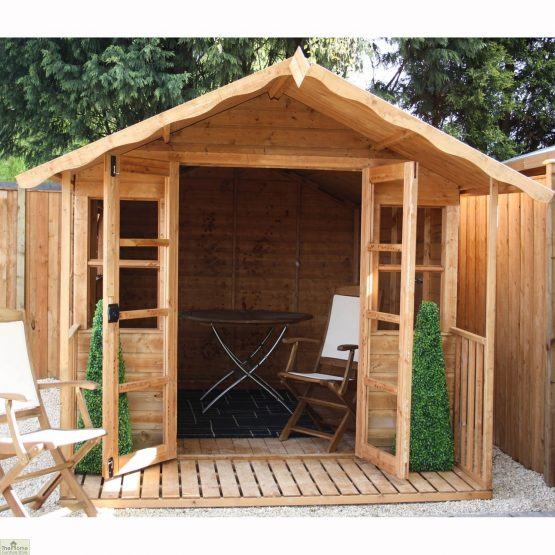 Traditional Wooden Summerhouse_2