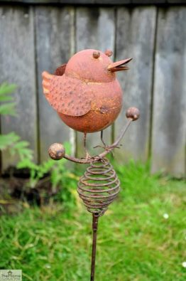 Large Bouncing Robin Ornament